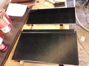 New carbon fiber main hatch construction