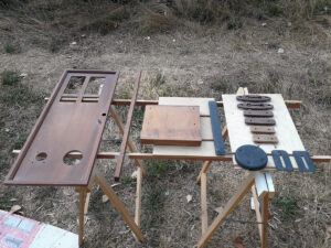 New instrument panel and other items constructed